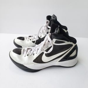 Nike Flywire Hyperdunk high tops black/white 2011